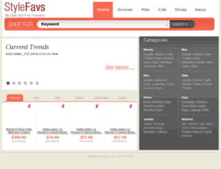 shop.stylefavs.com screenshot
