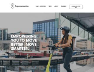 shop.superpedestrian.com screenshot