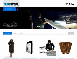 shop.surftotal.com screenshot