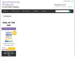shop.synchronicity.org screenshot