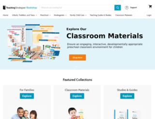 shop.teachingstrategies.com screenshot