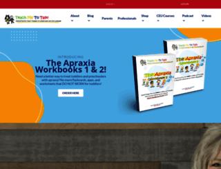 shop.teachmetotalk.com screenshot
