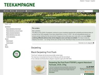 shop.teekampagne.de screenshot