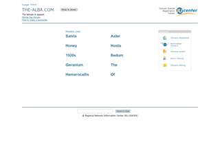 shop.the-alba.com screenshot