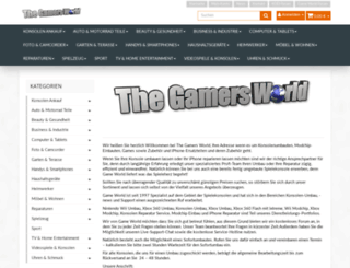 shop.the-gamers-world.de screenshot