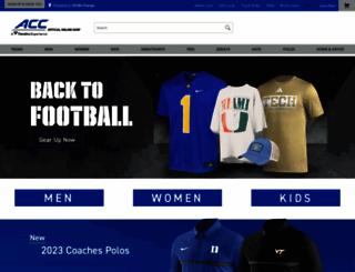 shop.theacc.com screenshot