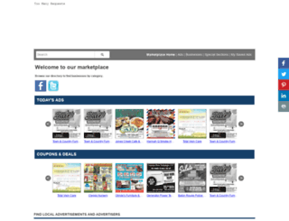 shop.theadvocate.com screenshot