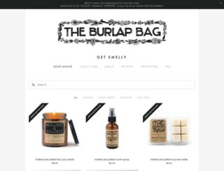 shop.theburlapbag.com screenshot