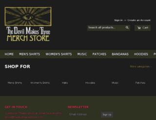 shop.thedevilmakesthree.com screenshot
