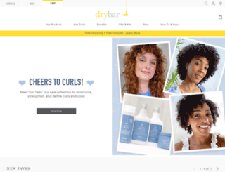 shop.thedrybar.com screenshot