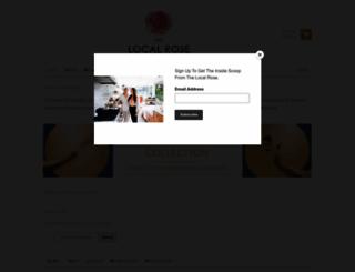 shop.thelocalrose.com screenshot