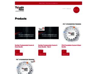 shop.thoughtrock.com screenshot