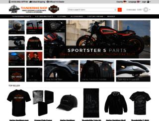 shop.thunderbike.de screenshot