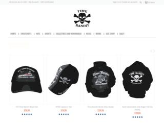 shop.timebandit.tv screenshot