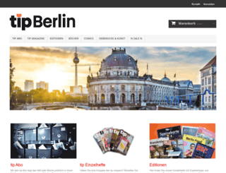 shop.tip-berlin.de screenshot