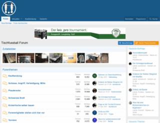 shop.tischfussball-online.com screenshot