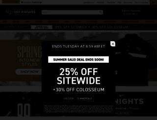 shop.ucfknights.com screenshot