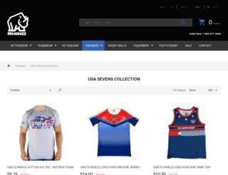 shop.usasevens.com screenshot