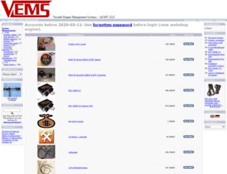 shop.vems.hu screenshot