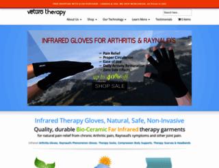 shop.veturotherapy.com screenshot