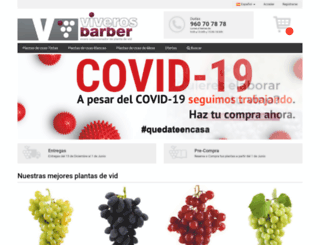 shop.viverosbarber.com screenshot