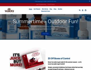 shop.waiora.com screenshot