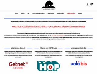 shop.wanderlust-webdesign.com screenshot