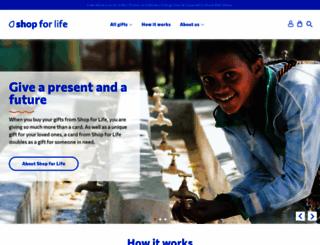 shop.wateraid.org screenshot