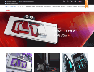 shop.watercool.de screenshot