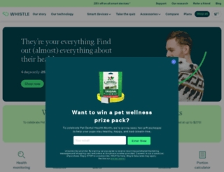 shop.whistle.com screenshot