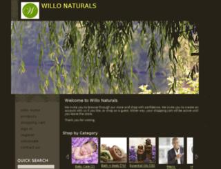 shop.willonaturals.com screenshot