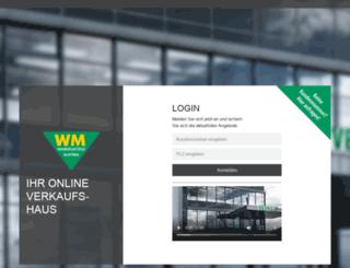 shop.wm-fahrzeugteile.at screenshot
