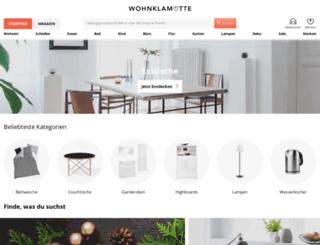 shop.wohnklamotte.de screenshot