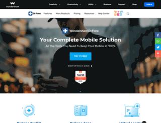 shop.wondershare.com screenshot