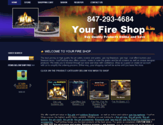 shop.yourfireshop.com screenshot