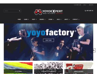 shop.yoyoexpert.com screenshot