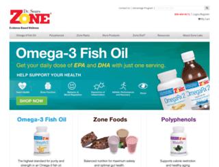 shop.zonediet.com screenshot