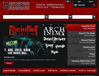 shop13fge.metaltix.com screenshot