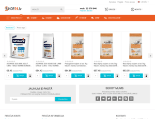 shop24.lv screenshot
