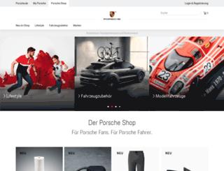 shop4.porsche.com screenshot