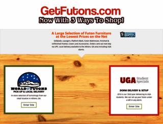 shop4futons.com screenshot