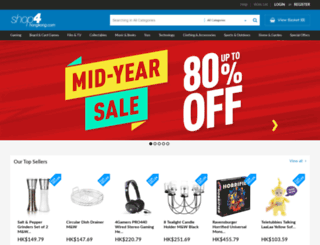 shop4hongkong.com screenshot