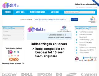 shop4inkt.nl screenshot