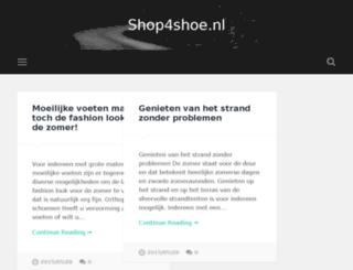 shop4shoe.nl screenshot