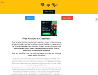 shop9ja.com screenshot