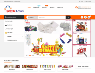 shopactual.com screenshot