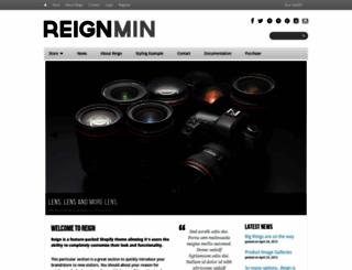 shopaholla-reign-min.myshopify.com screenshot