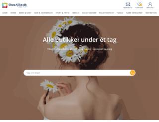 shopalike.dk screenshot
