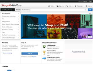 shopandmall.co.ke screenshot