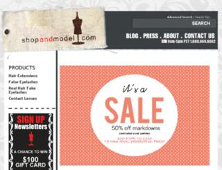 shopandmodel.com screenshot